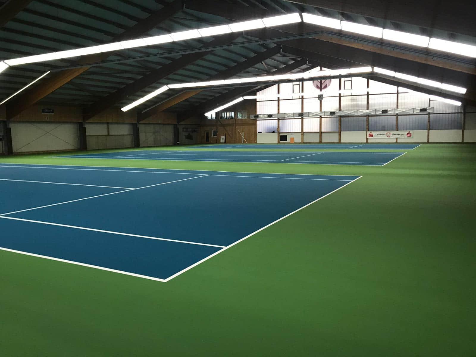 Memmingen,Tennis, Montreal 21, Acryl